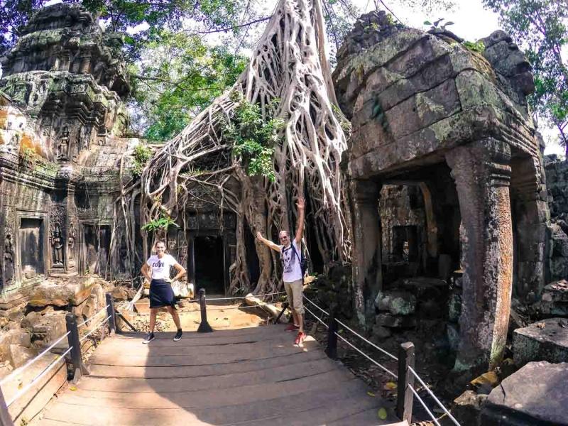 best way to visit angkor wat ta prohm 11