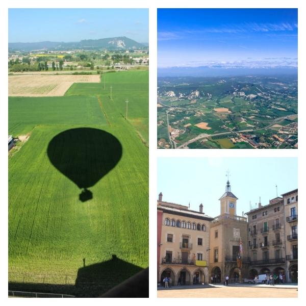 fazer voo de balão na região de Barcelona