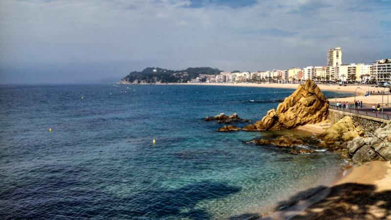 região Lloret de Mar em Barcelona