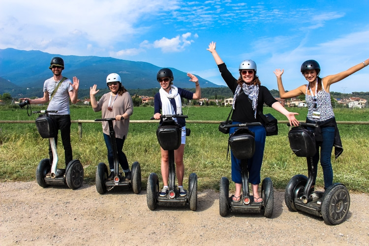 things to do outside Barcelona segway a