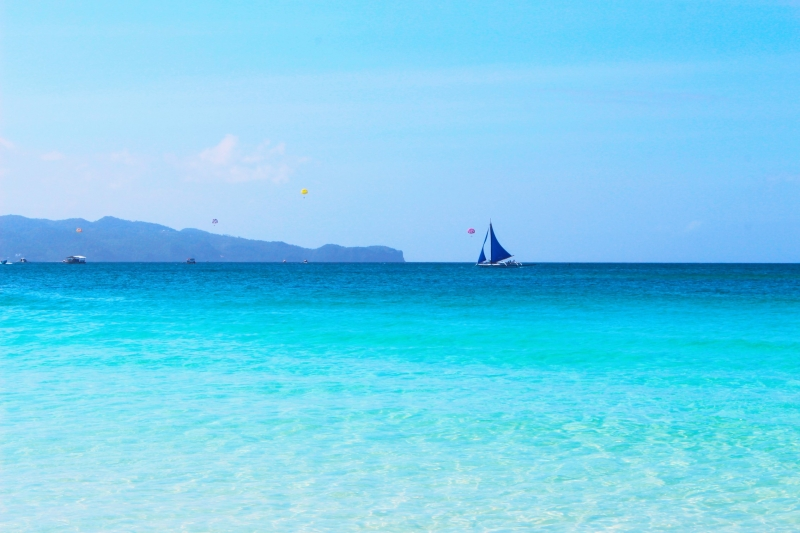 Boracay Philippines White beach.JPG