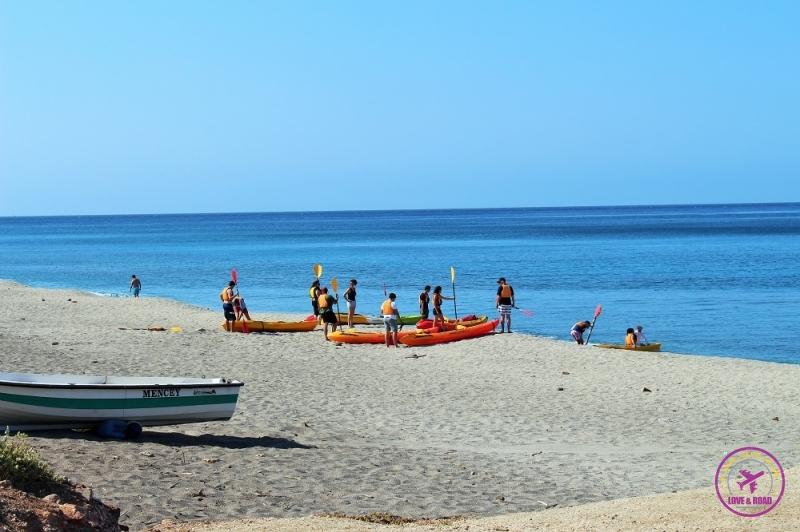 Vários esportes podem ser praticados em Cabo de Gata.