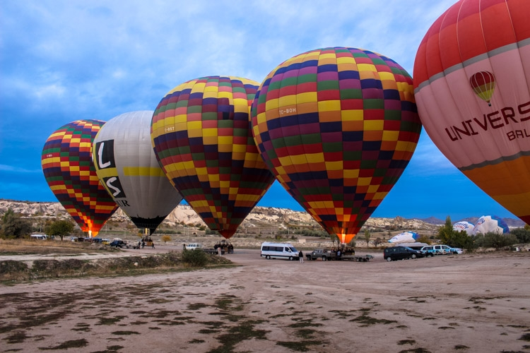 things to do in Cappadocia hot air balloon