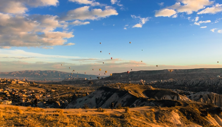things to do in Cappadocia landscape