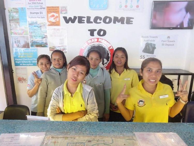 hostels no camboja team