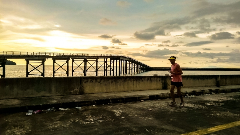 ironman malaysia sunset