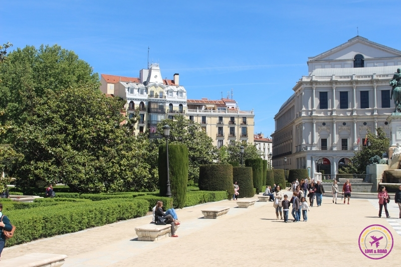 Teatro Real de Madrid.