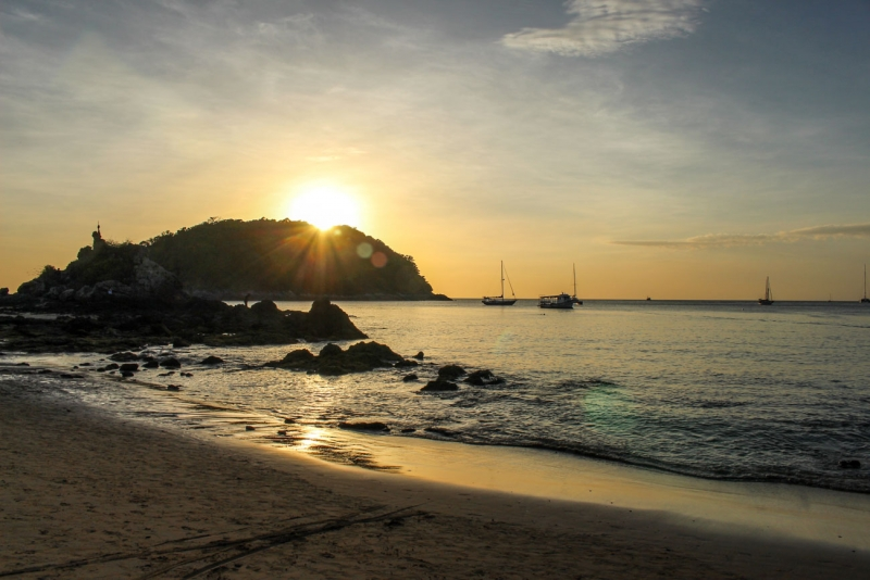 Nai Harn is one of the best beaches in Phuket.
