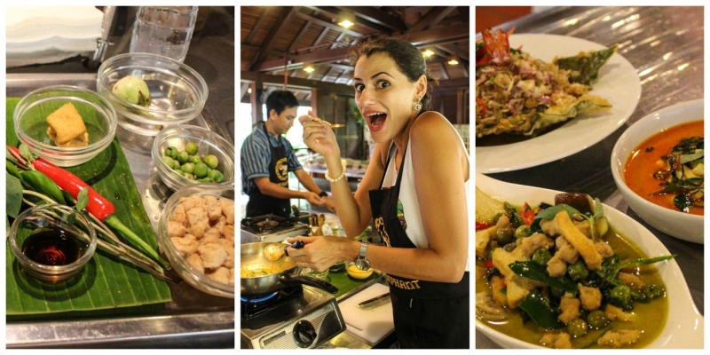 If you're looking for cool activities to do in Phuket, you should do cooking class.