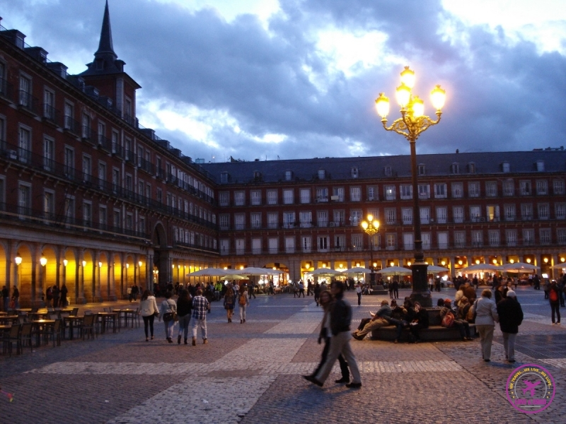 Plaza Mayor de Madri.