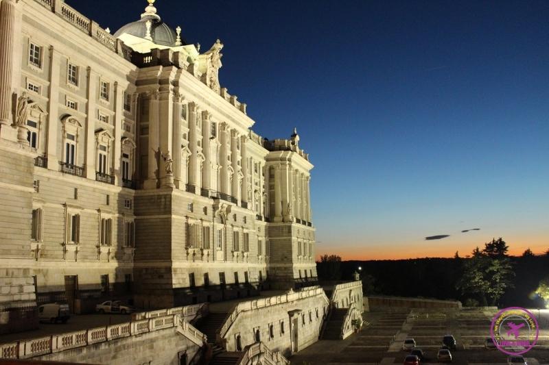 Palácio Real de Madri.