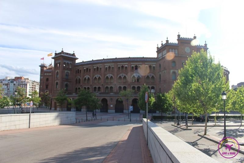 Praça de Touros Las Ventas, em Madri.