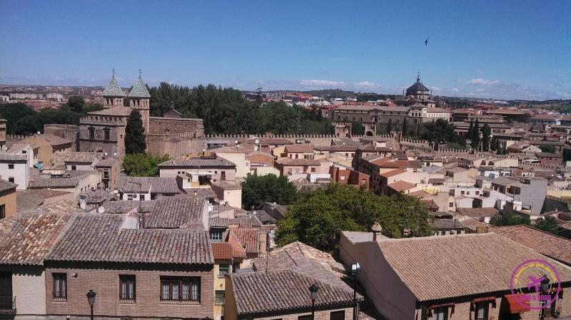 Outra bela vista da cidade de Toledo.