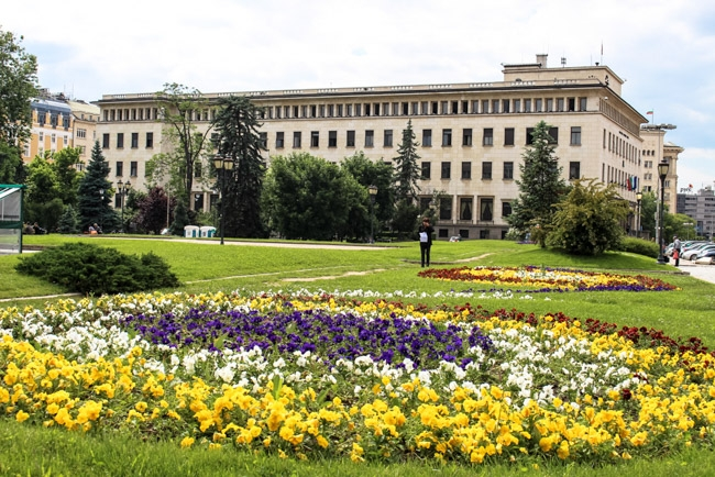 A walking tour around the city is the best way to discover what to do in Sofia, Bulgaria