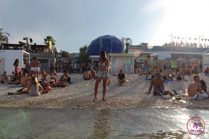 Zrce beach, dirty...