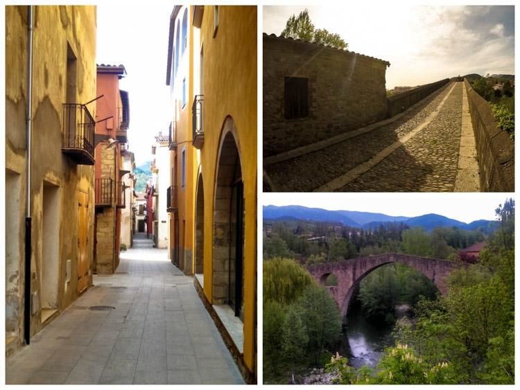 locais na Catalunya Pont Vell, Sant Joan de les Abadesses
