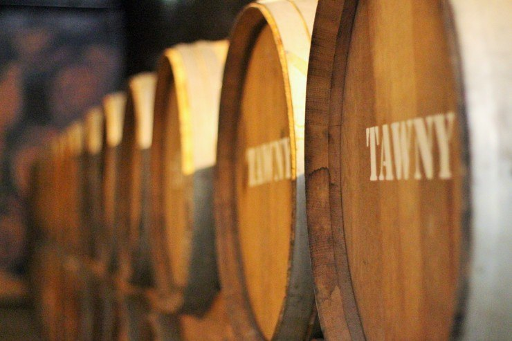 2 Tawny barrels