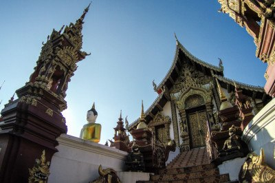 Live in Chiang Mai Temple