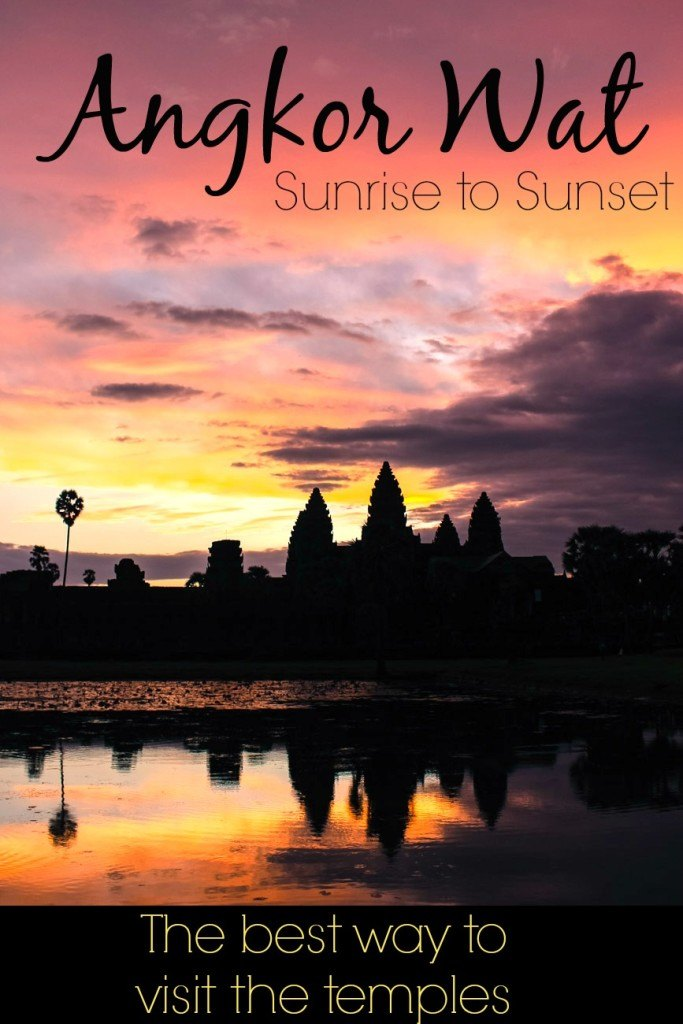 How to visit Angkor Wat, Cambodia » From Sunrise to Sunset! Tips to avoid the crowd, explore the ancient temples and watch the stunning sunrise!