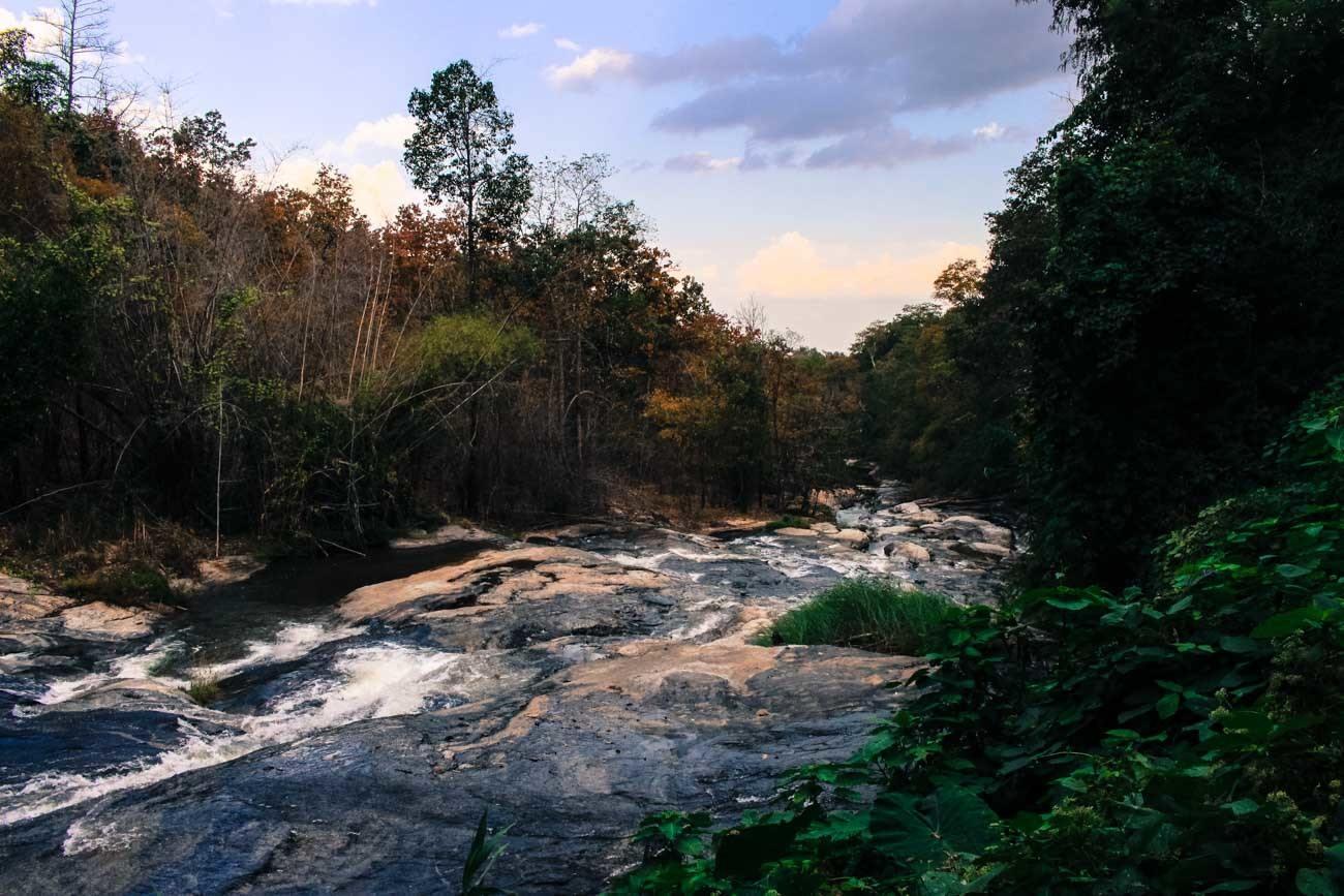 When traveling to Chiang Mai you must visit Doi Inthanon and Mae Ya Waterfall.