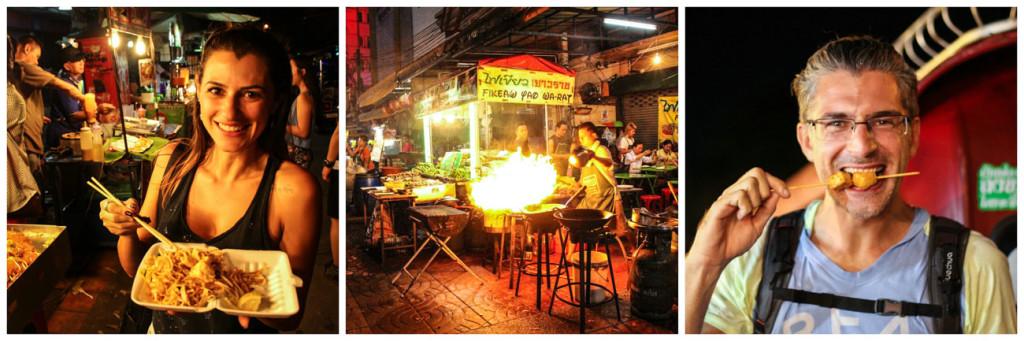 Quer saber quanto custa comer na Tailândia? A comida de rua da Tailândia é deliciosa e super barata.