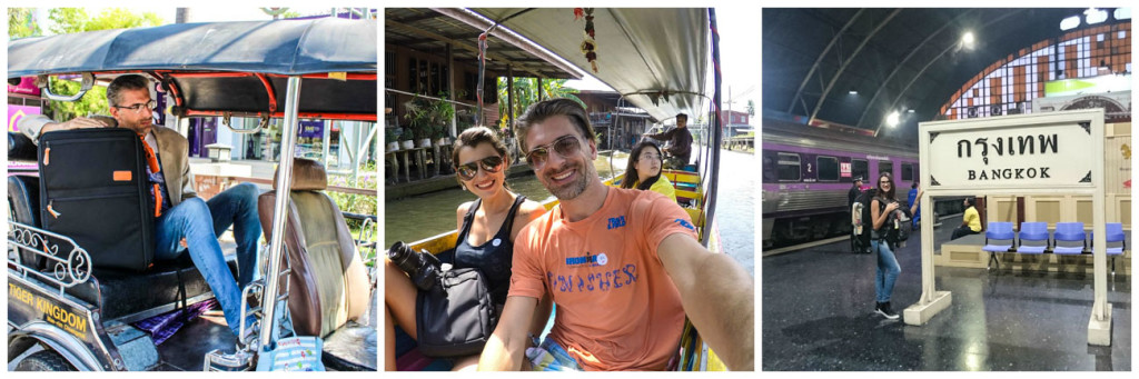 Quer saber quanto custa viajar na Tailândia? Dicas para reservar hotéis, transporte e passeios . Andamos de tuk tuk, barco, trem, ônibus e avião.