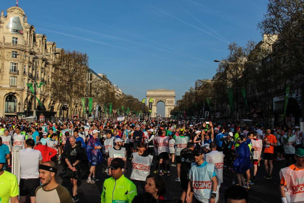Paris Marathon Review: the best crowd in one of the most beautiful cities in the world!