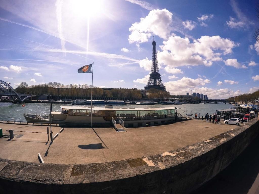 Maratona de Paris: correndo ao lado do Rio Seine e Torre Eiffel!