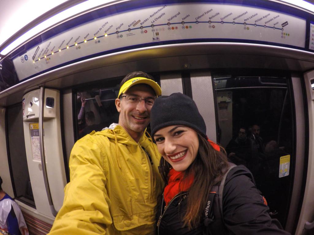 Dicas para a Maratona de Paris: vá para corrida e metrô!