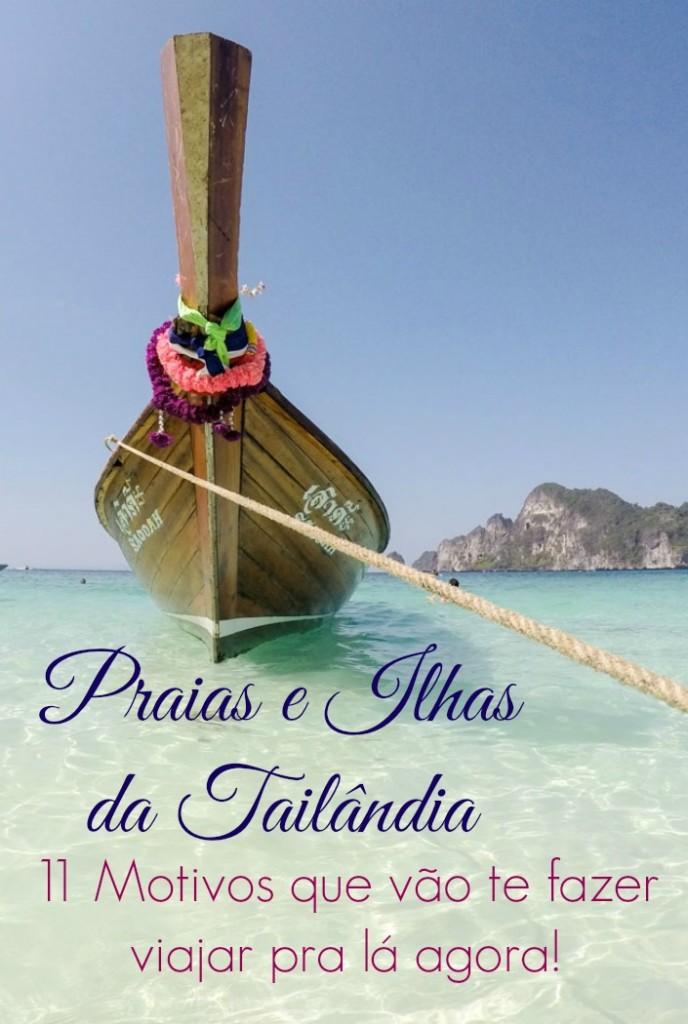 Porque viajar para as ilhas da Tailândia? Porque é o paraíso na terra! Aqui vão 11 motivos (e dicas) que vão te deixar com vontade de viajar pra Tailândia agora mesmo!