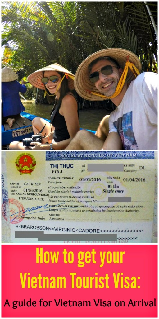 An easy guide to get the Vietnam tourist visa on arrival. All the visa requirements, forms, visa fees and how to apply online for the Vietnam Visa.