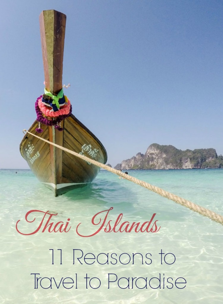 Discover the stunning islands in Thailand and why you should travel to Thai Islands at least once in a lifetime. Warning: photos may cause serious wanderlust!