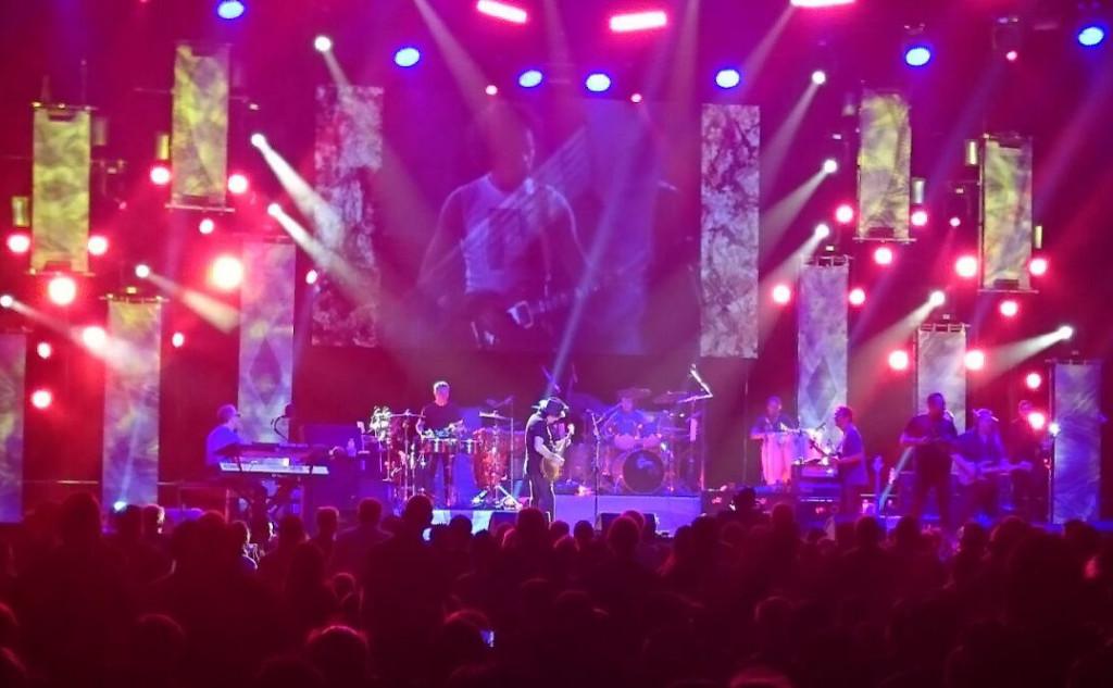 The Singha Vip Experience - Carlos Santana concert live in Bankok, Thailand.