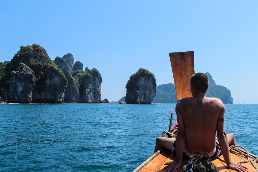 The rock formation around the Thai Islands are impressive. A truly natural wonder!