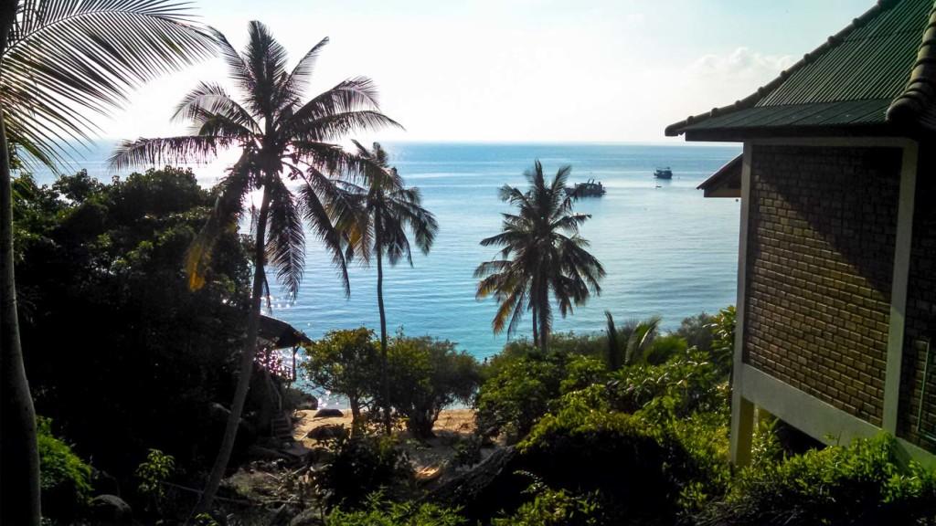 Que tal abrir a janela e ver essa paisagem?! É só viajar para uma das ilhas da Tailândia!