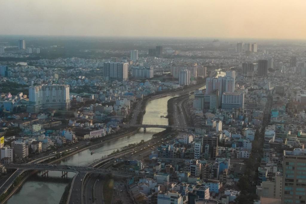Walk along the Saigon River to better explore Ho Chi Minh City.