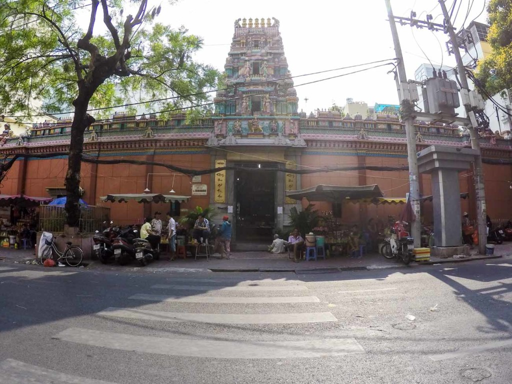 Mariamman Hindu Temple is one of the unmissable attractions in Ho Chi Minh City.