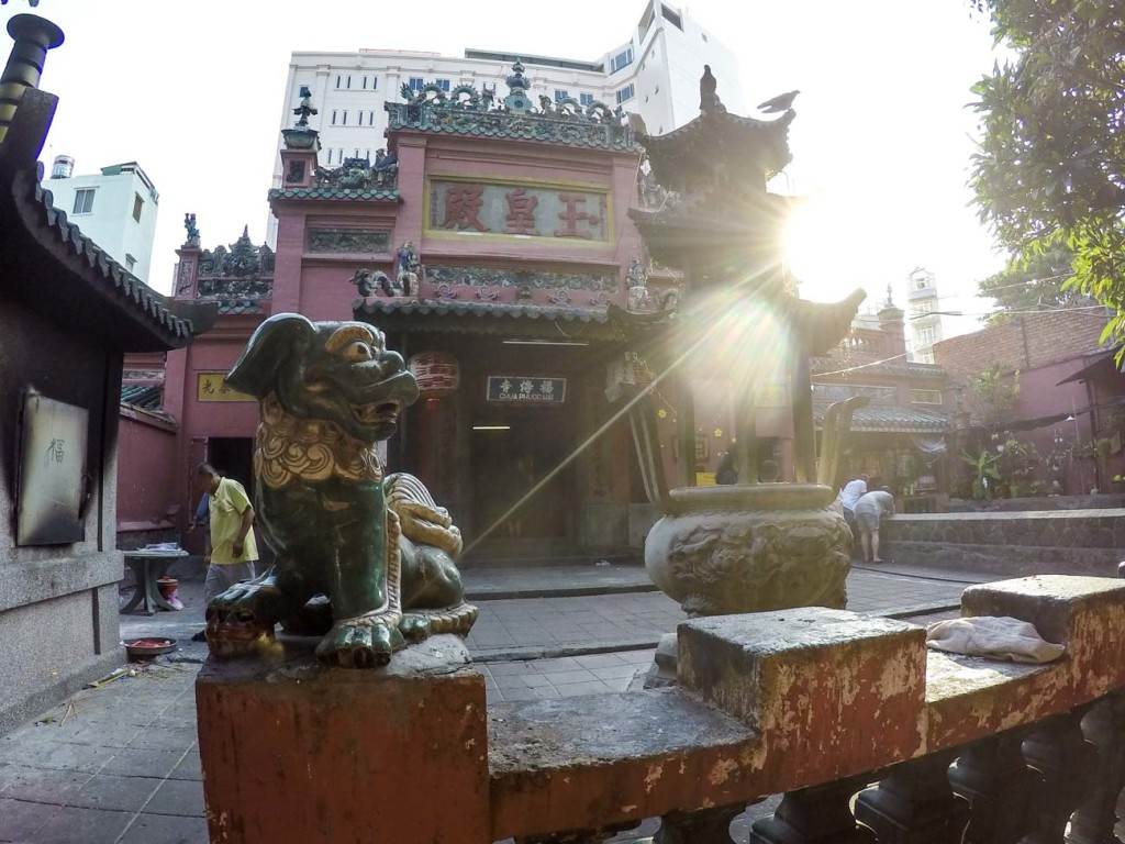 Want to know where to go in Ho Chi Minh City? Emperor Jade Pagoda, for us, is one of the best attractions in Saigon; such an interesting temple.