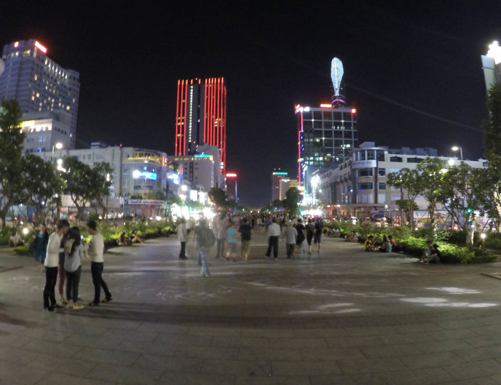 Want to know what to do in HCMC? One of the coolest things is to explore the Nguyen Hue walking street by night!