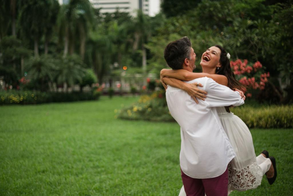 Celebrating our Thailand Honeymoon at Lumpini Park, Bangkok