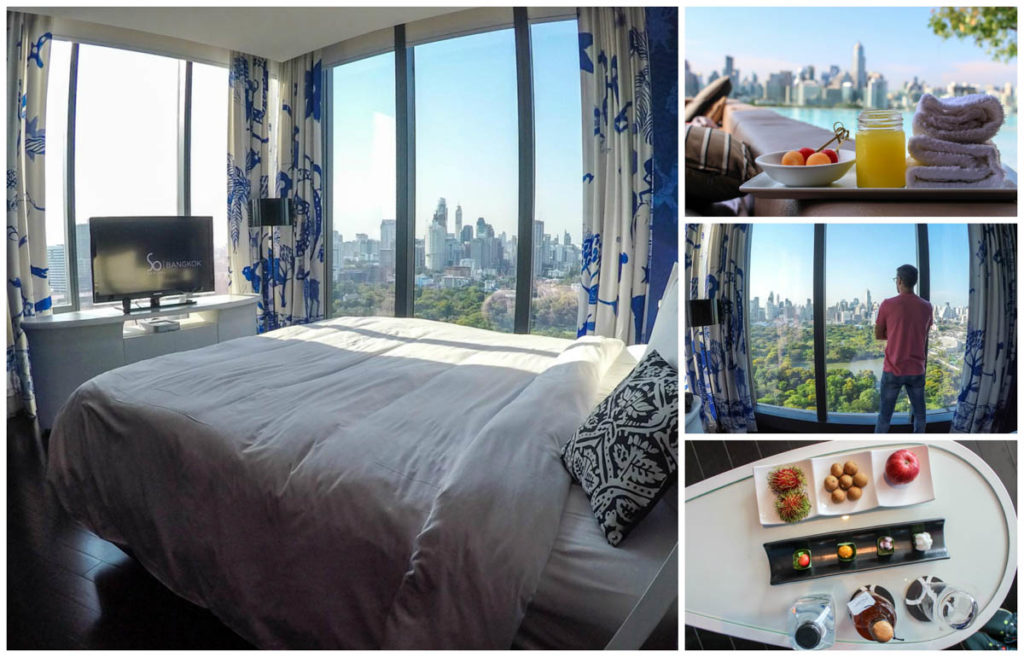 Stay at So Sofitel Bangkok, the hotel itself is one of the awesome and cool things to do in Bangkok!