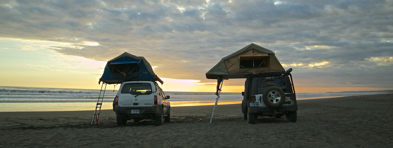 Driving and Camping in Costa Rica! Be close to nature, surf the best waves and have an unforgettable trip!