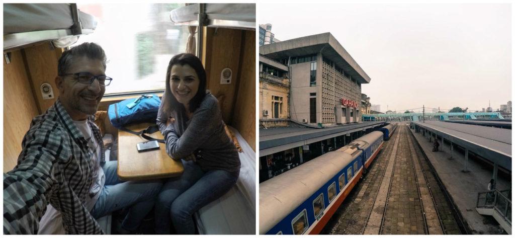 Como chegar em Sapa, Vietnã? Nós escolhemos o trem noturno de Hanói para Sapa.
