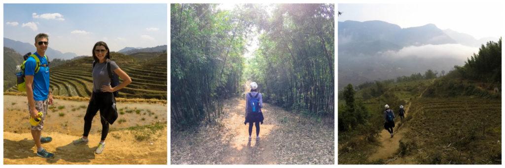 Durante nossa caminhada pelas montanhas de Sapa, Vietnã, passamos por lugares lindos!