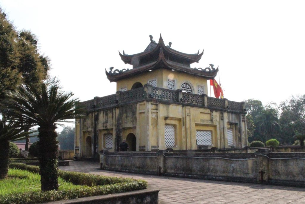 The historical Citadel is just on of Hanoi top attractions.