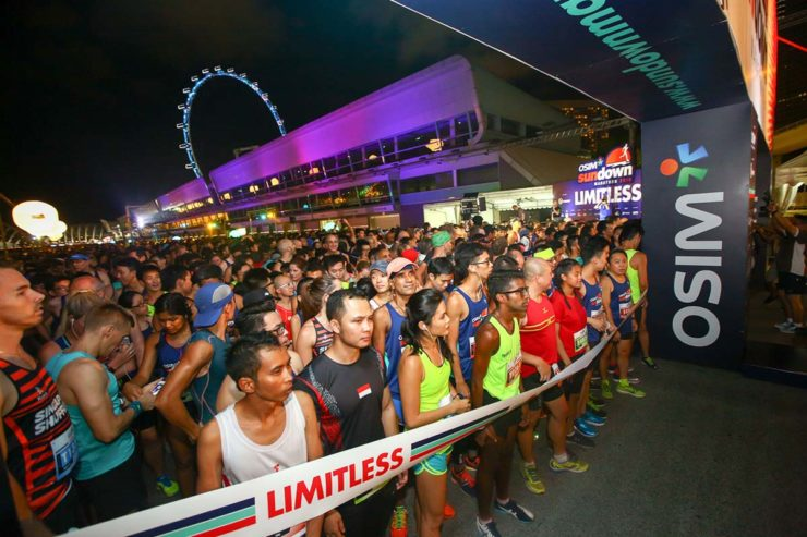 Sundown Marathon Singapore » The Largest Night Race in Asia