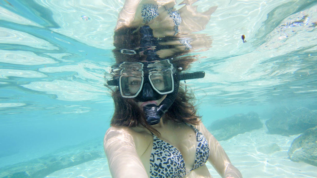 If you don't dive, don't worry! The water in El Nido and around Pangulasian Islands are perfect for snorkeling!