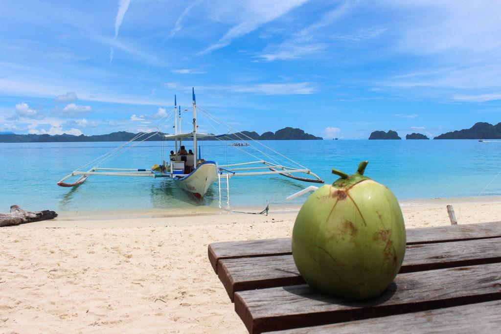 Pangulasian Island, the Paradise in El Nido, Philippines