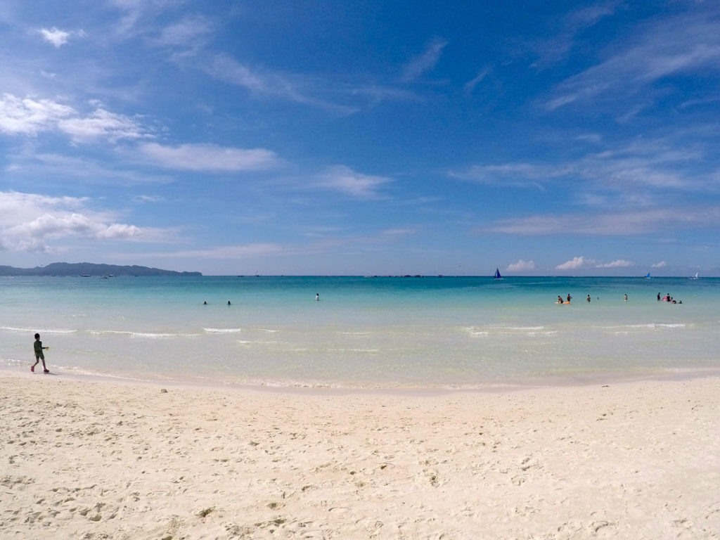 The beaches in Boracay are gorgeous a invitation to sit and celebrate love. One of the top romantic places in The Philippines.