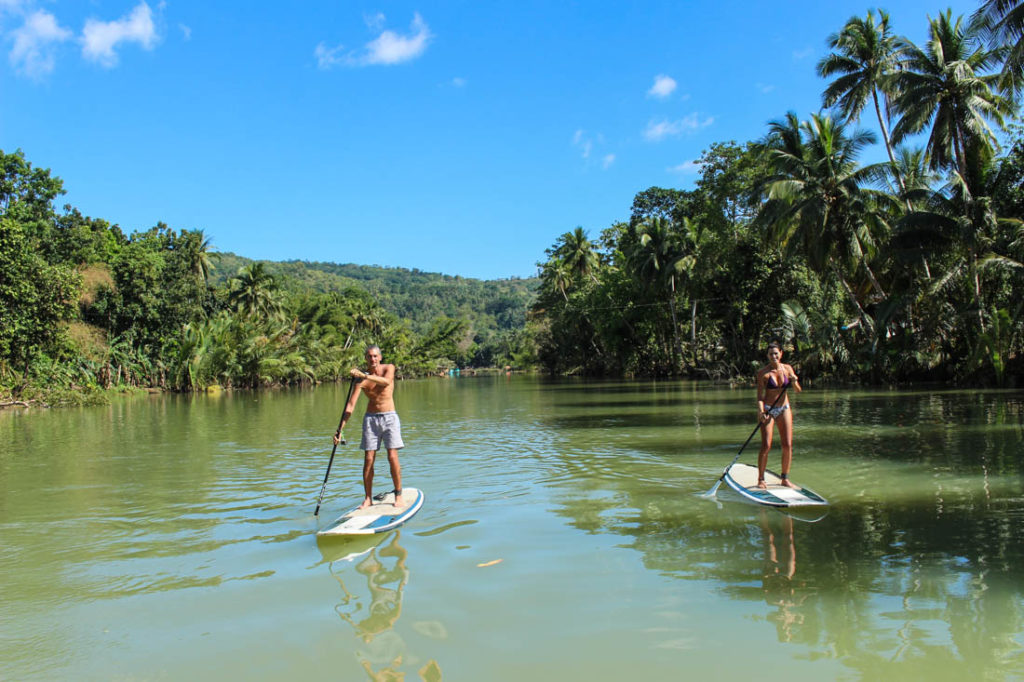 Face your fears together in Bohol!! Adventure and SUP in on of the most romantic places in The Philippines!